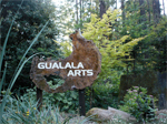 Sign for Gualala Arts